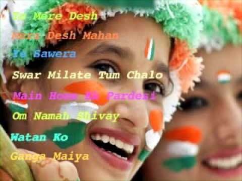Nice patriotic songs 2016 hits Independence day special music Indian super videos full pop mix mp3