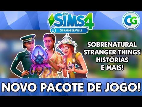 The Sims 4 StrangerVille - NOVO PACOTE DE JOGO! thumbnail