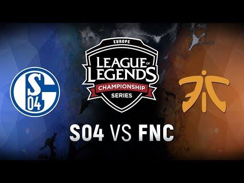 S04 vs. FNC - Week 1 Day 2 | EU LCS Summer Split | FC Schalke 04 vs. Fnatic (2018)