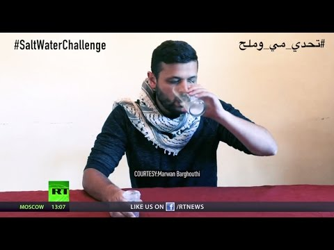#SaltWaterChallenge: People worldwide support Palestinian prisoners on hunger strike