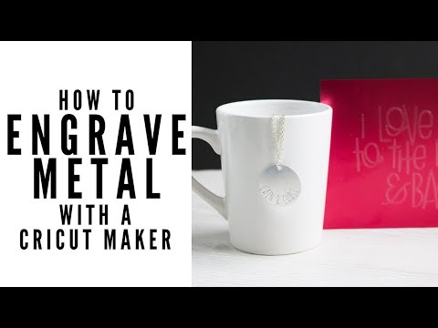 How to Engrave Aluminum with the Cricut Maker