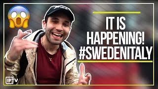 GOING TO WATCH SWEDEN VS ITALY