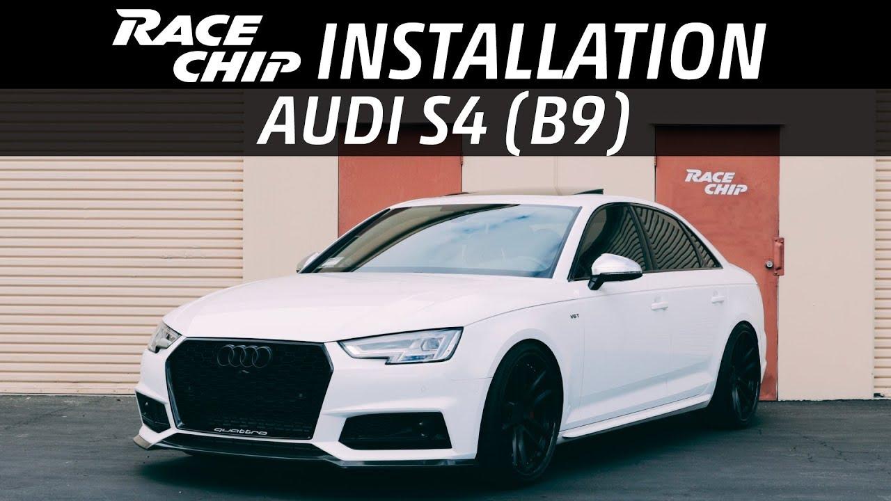 Audi S4 (B9) RaceChip Tuning Installation | Audi S5 SQ5 | 3 0 TFSI
