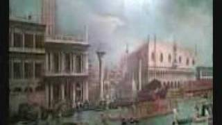 VENEZIA E I SUOI SPLENDORI .Il Bucintoro dipinto da Canaletto.