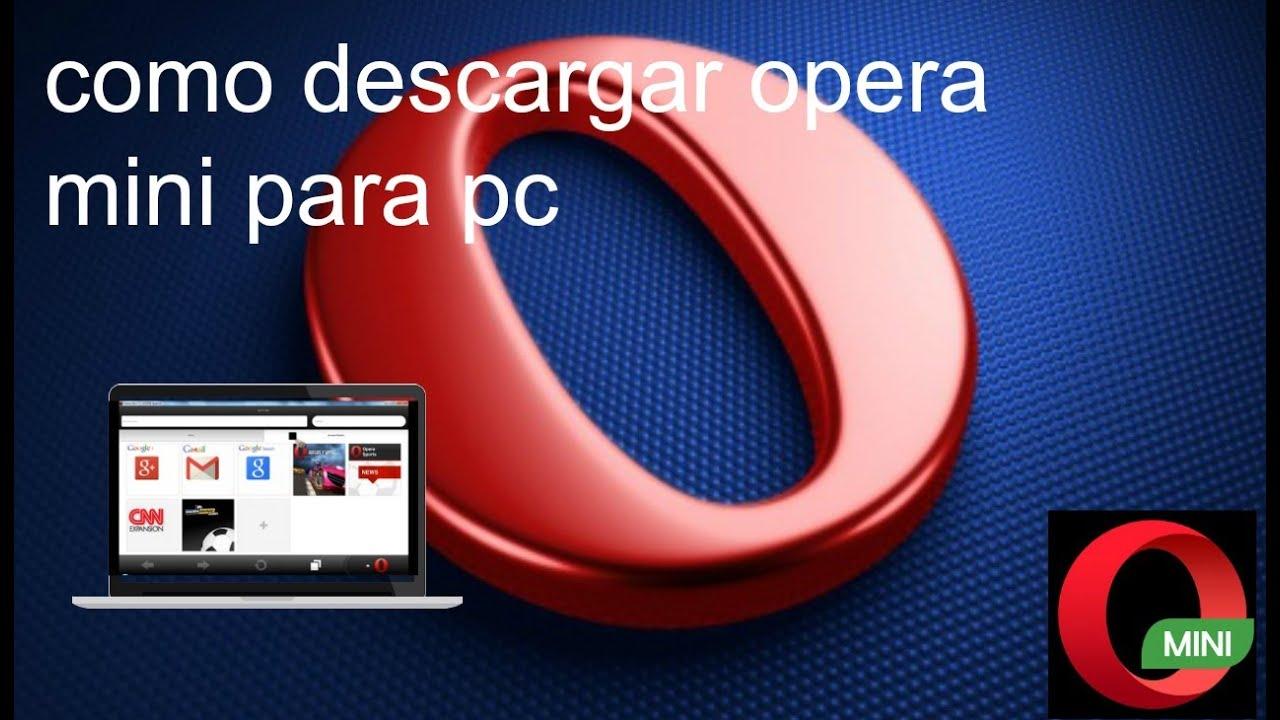 descargar opera mini gratis 4