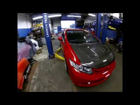 How to replace oxygen sensor (air/fuel sensor) on a 2013 civic si