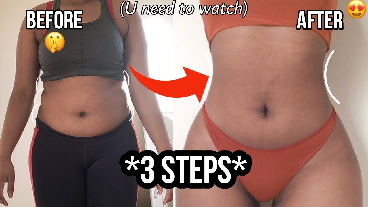 How To Lose Stubborn Belly Fat In 3 Steps (Do this)