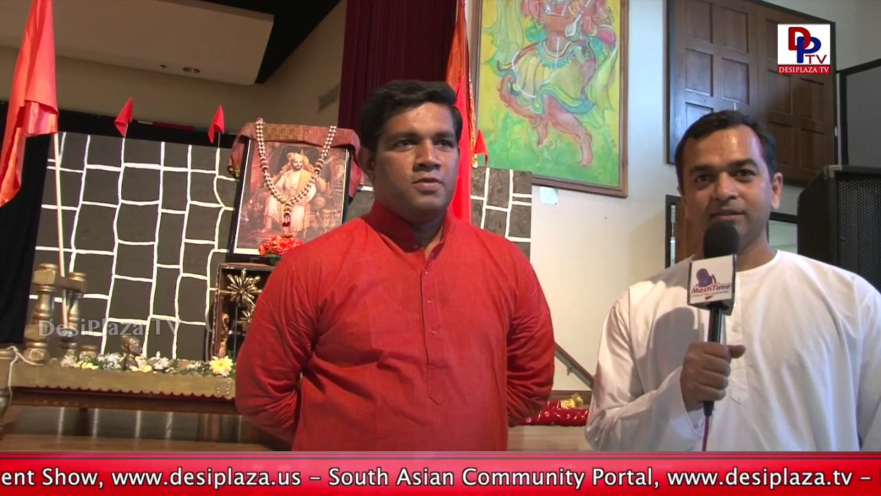 An Organizer of DFWMM Shivjayanthi Celebrations speaks to DesiplazaTV || DFWMM || Dallas || USA