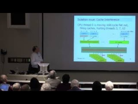 Dick Sites Data Center Computers: Modern Challenges in CPU Design
