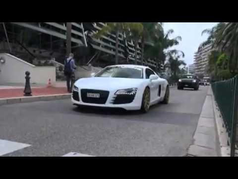 Audi R8 Le Mans Edition w  ADV1 Wheels! INSANE Revs!