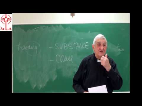 Philosophy of God: L01- Historical Background of Thomist natural theology