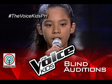 "The Voice Kids Philippines  Blind Audition: ""Chandelier"" by Sassa"
