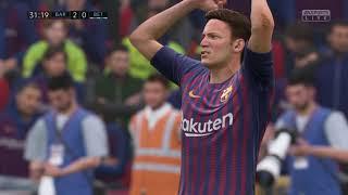 ROUND 12  FC BARCELONA vs Real Betis   FIFA 19 LA LIGA 2018 2019 Y