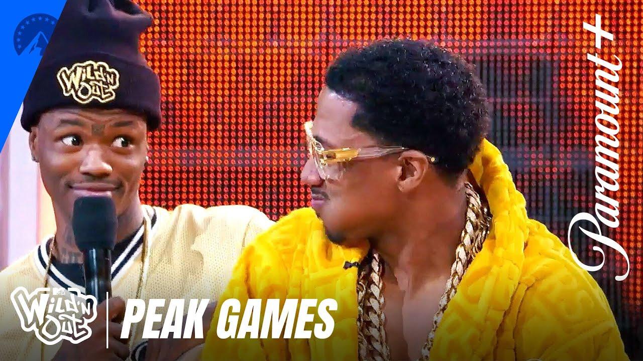 Peak Games: Talkin' Spit 💦 Wild 'N Out