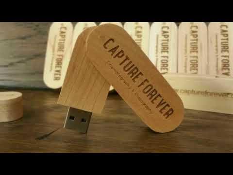 Top Wooden USB Flash Drives Logo Engraving
