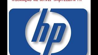 Instalação do driver impressora HP em geral nesse video foi J4660 passo a passo