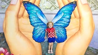 ВЛОГ Путешествие и игры для детей в мире иллюзий и обман зрения Щенячий патруль Смотреть Новые Серии
