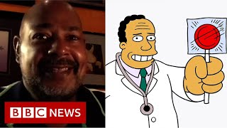 The new voice of The Simpsons' Dr Hibbert - BBC News