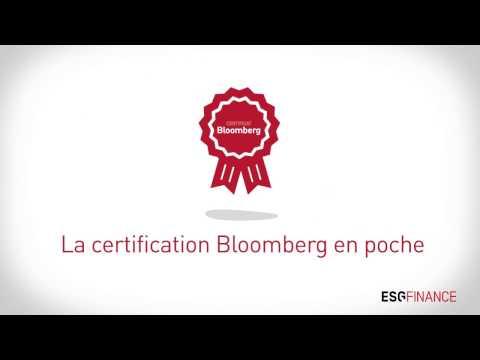 Certification Bloomberg à L'école De Finance à Paris