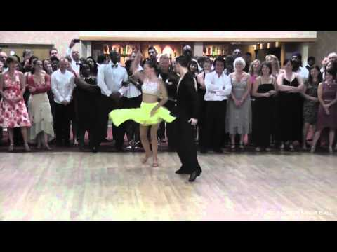 Greg McDonough & Kathryn Jones perform jive dancing show at VIP Late Summer Night Ball