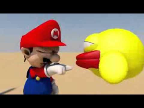 Hoạt hình Flappy bird đại chiến Mario [KenTy]