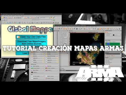 TUTOR CREACIÓN MAPAS ARMA3 - 12 - BULDOZER MOVIMIENTOS 01