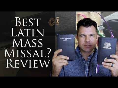 Latin Mass Hand Missal Review: Which Is The BEST? W Dr Taylor Marshall