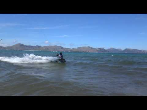 Flysurfer Speed 3, after 7 years and in full shape kitesurfing lessons in Mallo