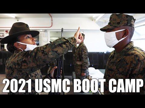 2021 U.S. Marine Corps Recruit Training   Marine Corps Recruit Depot, San Diego