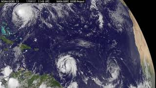 GOES-East Video of Jose and Maria thumbnail