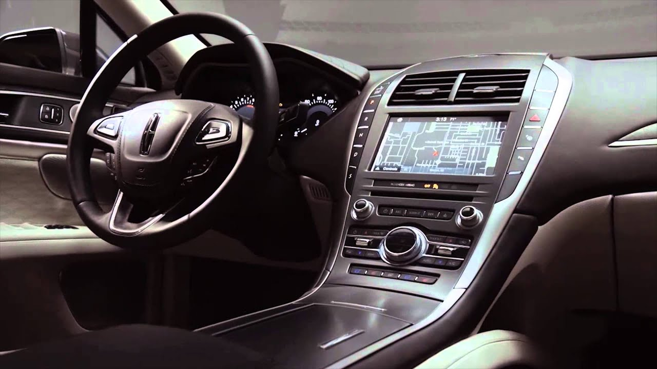 2017 Lincoln MKZ Black Label Interior Design | AutoMotoTV   YouTube Good Ideas
