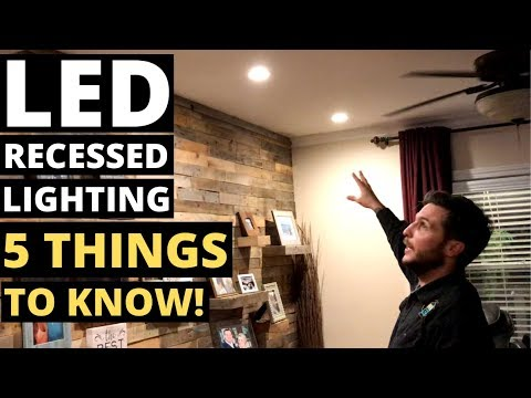 led-recessed-lighting--5-things-to-know!!-(can-lights/downlights/recessed-lights)