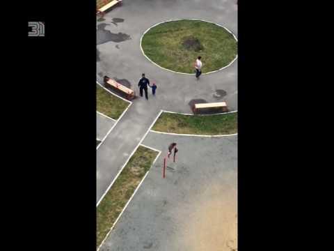 Разминалась во дворе. Маленькая гимнастка из Копейска взорвала соцсети