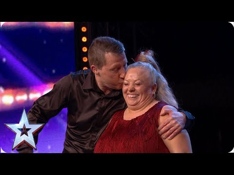 Dave and Marg light up the room with joyful jive! | Auditions | BGT 2019