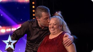 Dave and Marg light up the room with joyful jive! | Auditions | BGT 2019 thumbnail