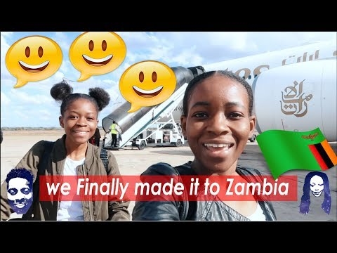 We finally made it to Zambia.(Lusaka)