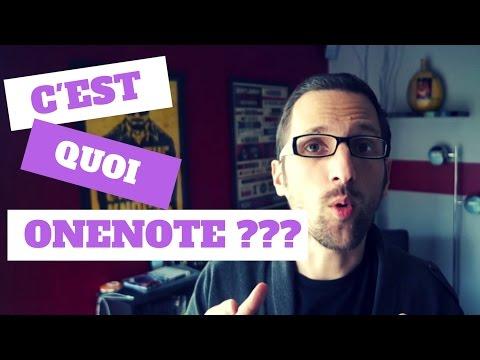 TUTO ONENOTE #1 - LES BASES