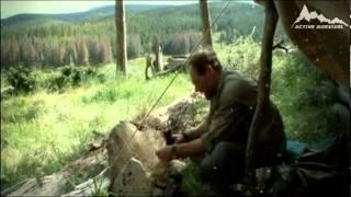 Лес Страуд | Огонь от фонарика
