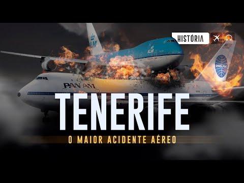 O MAIOR ACIDENTE AÉREO DE TODOS OS TEMPOS - TENERIFE EP #156