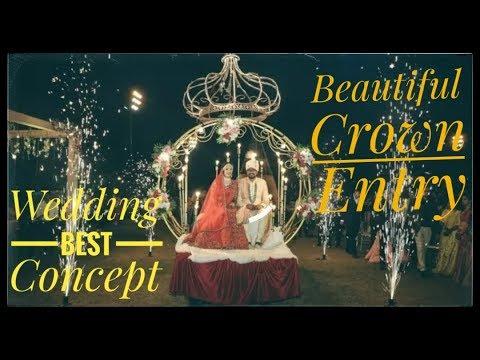 Wedding Entry Bride Groom Entry | Crown Entry | Varmala Entry |Couple 9904378638 9724425565