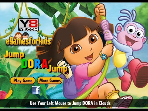 Dora Games To Play Free Online - Dora Jumping Clouds Game ...