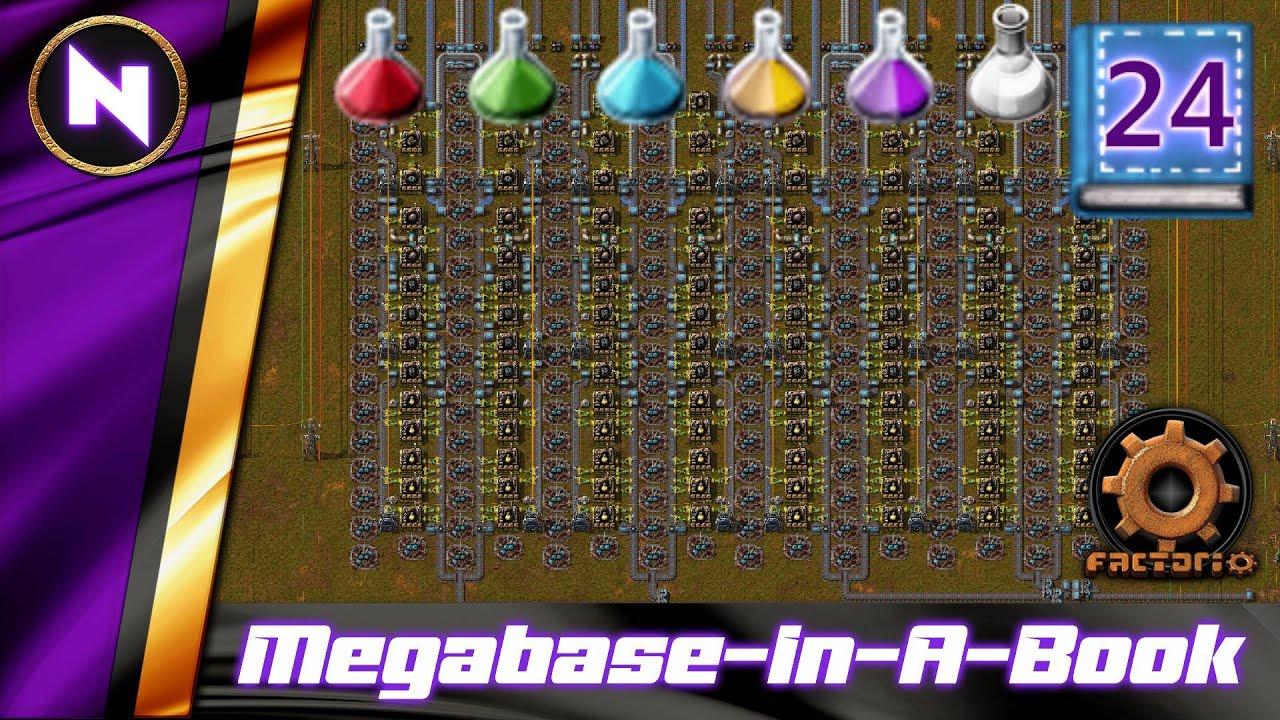 Download 2700 / min UTILITY SCIENCE Station Design   #24   Factorio Megabase-In-A-Book Lets Play
