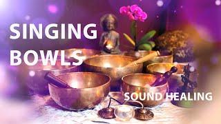 Singing Tibetan Bowls - Sound Healing