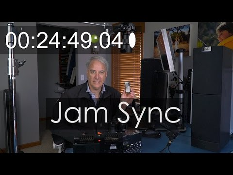 A7Sii and A7Rii Tutorial - How to Jam Syncing Timecode thumbnail
