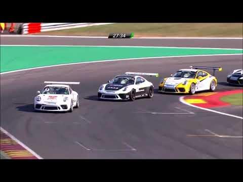 AYHAN CAN GÜVEN - 2018 - Spa & Magny-Cours Highlights   **Porsche GT3**