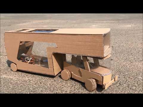Colim Caravan Concept  - with 2 Detachable Parts Car and Mobile Home