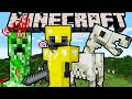Minecraft 1.11 Snapshot: Hunger Buff, New Mob Eggs, Hydrophobic Husks, Creeper Effects, Chicken Neck