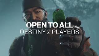 Destiny 2 Forsaken Gambit Free Trial Weekend Trailer