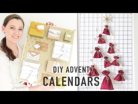 DIY Beauty Advent Calendars | Two Advent Calendar Tutorials! 🎄