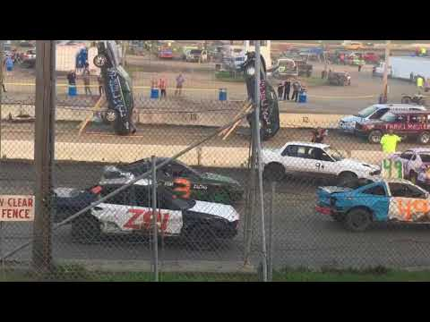 Eve Of Destruction at the Orange County Fair Speedway - sept 16 , 2017